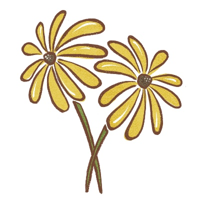 Icon of Yellow Flowers