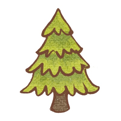 Icon of a Christmas Tree